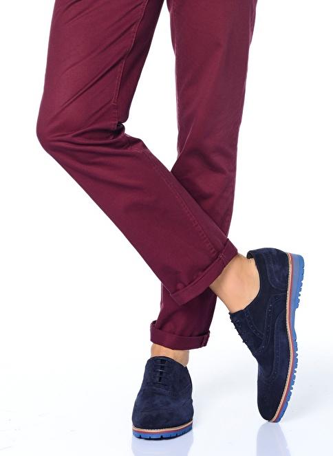 Baqietto %100 Deri Casual Ayakkabı Lacivert